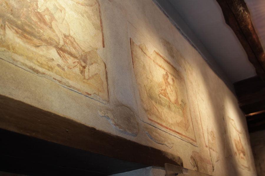 Bordellen i Pompeii med avancerad vägvisare!