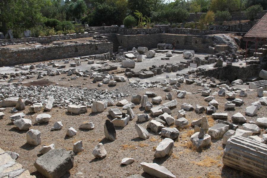 Mausoleet i Halikarnassos!