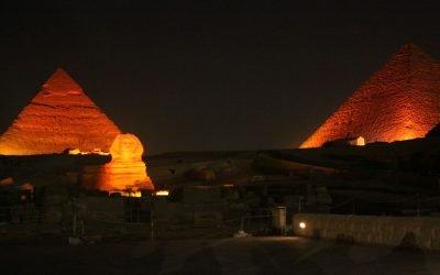 Sound & Light Show – Pyramids Of Giza.