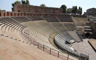 Teatro Antico – Antika Teatern – Taormina
