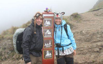 A Little Walk Down The Inca Trail!