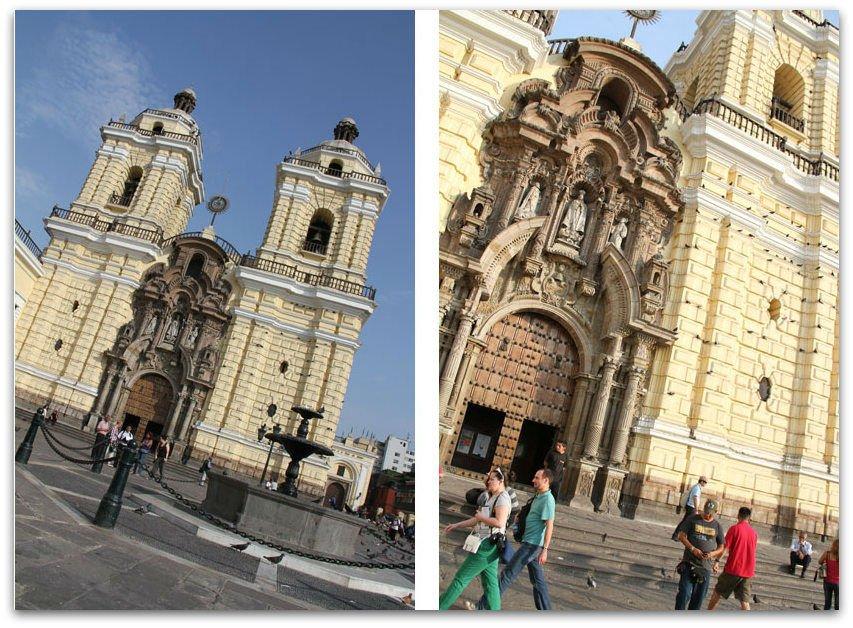 Lima-church-catacombes