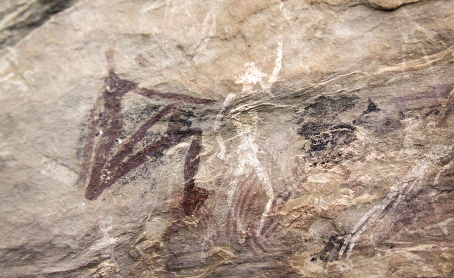 To see: 27000 years old Bushman Paintings In Lesotho