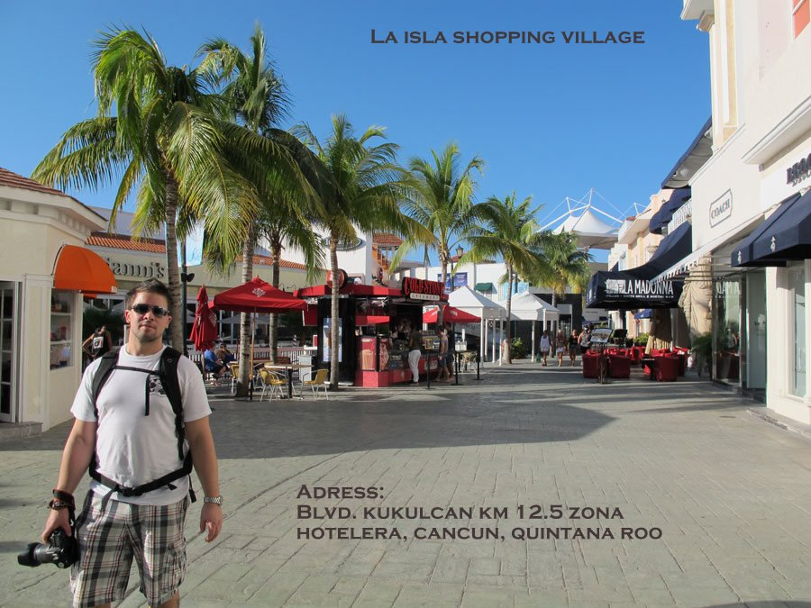 La Isla Shopping Village!