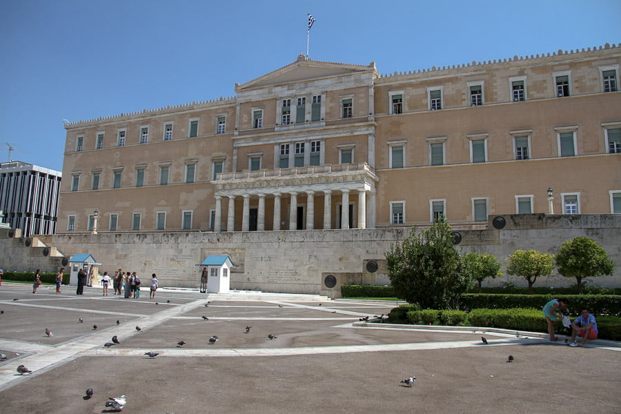The parlament Athens-1