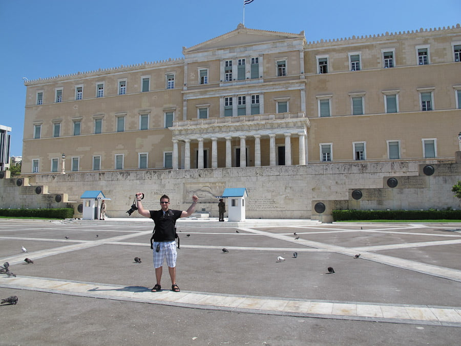 The parlament Athens-13