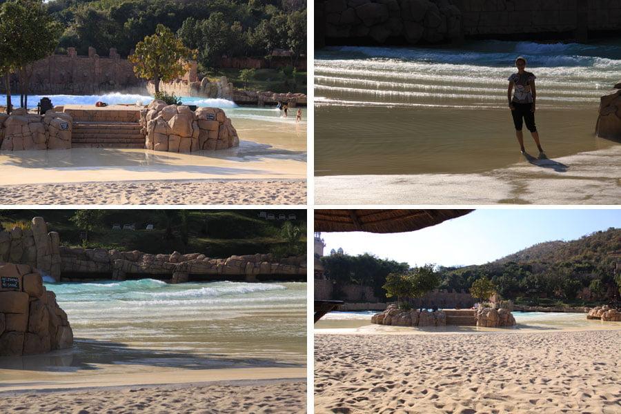 Man-made-beach-sun-city