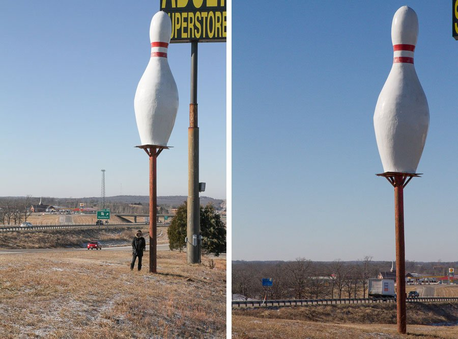 Bowling-pin-route-66