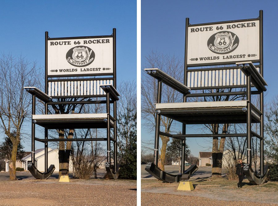 Giants on Route 66: Worlds Largest Rocker