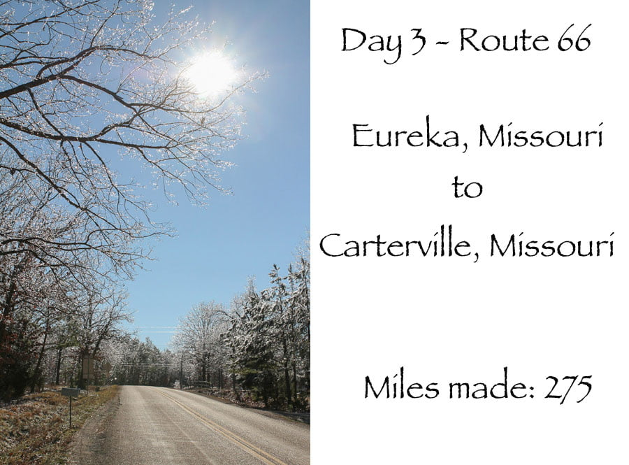 Route 66 day 3 – Eureka Missouri