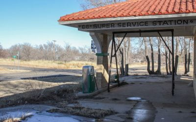 66 Super Service Station – Abandoned in Texas