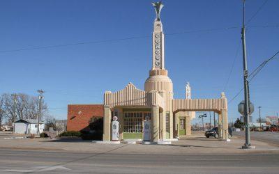 Conoco Tower – Route 66 Art Deco