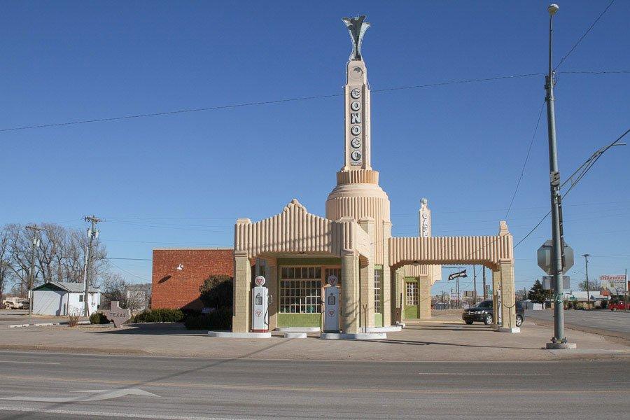 Conoco-Route-66-Texas