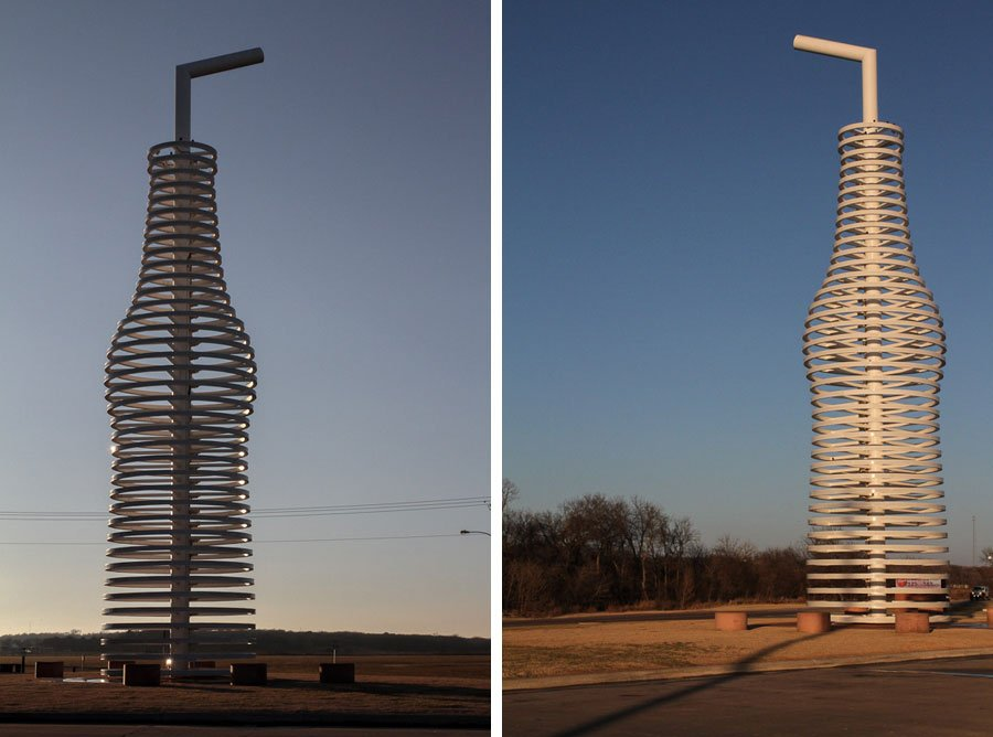Giants on Route 66: Worlds Largest Pop Bottle