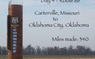 Route 66 day 4 – Carterville, Missouri – Oklahoma City
