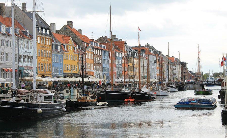 A walk in Copenhagen city center
