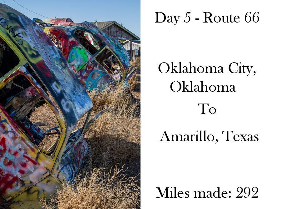 Route 66 day 5 - Oklahoma City, Oklahoma -