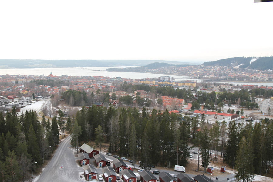View from Arctura Åre Sweden