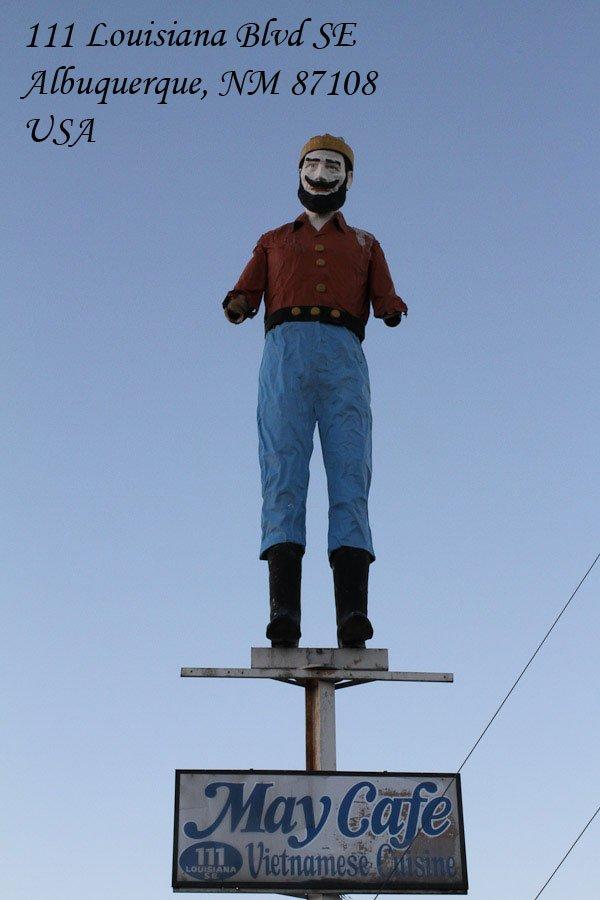 Giant Lumberjack in Albuquerque