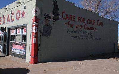 Texaco Gas station – Tucumcari, New Mexico.