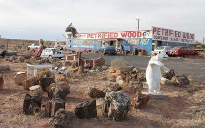 Giants along Route 66: Stewarts Rock Shop