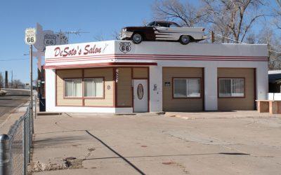 Desoto´s Salon in Ash Fork, Arizona