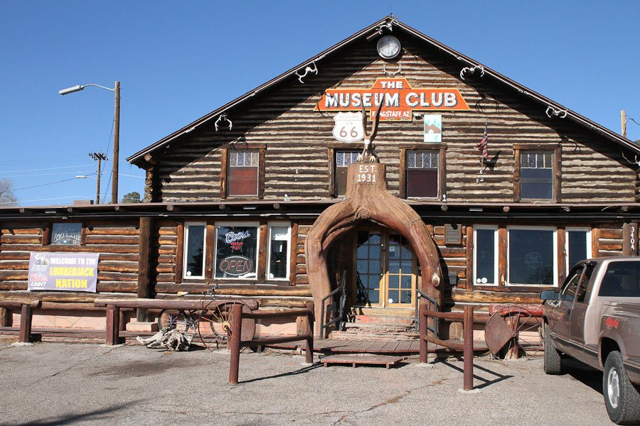 Giants along Route 66: Southwests largest log cabin