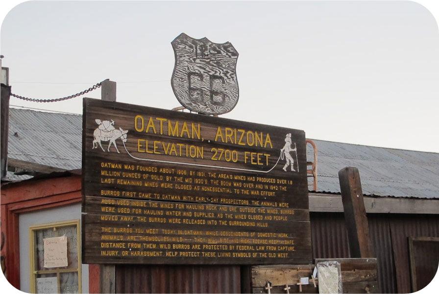 Oatman Arizona – on our Bucket list!