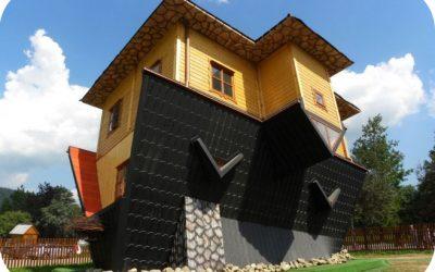 Dom do góry nogami – The upside down house – Zakopane, Poland
