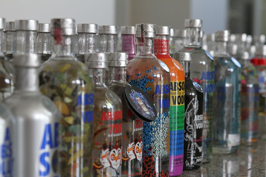 Absolut Vodka - Country Of Sweden
