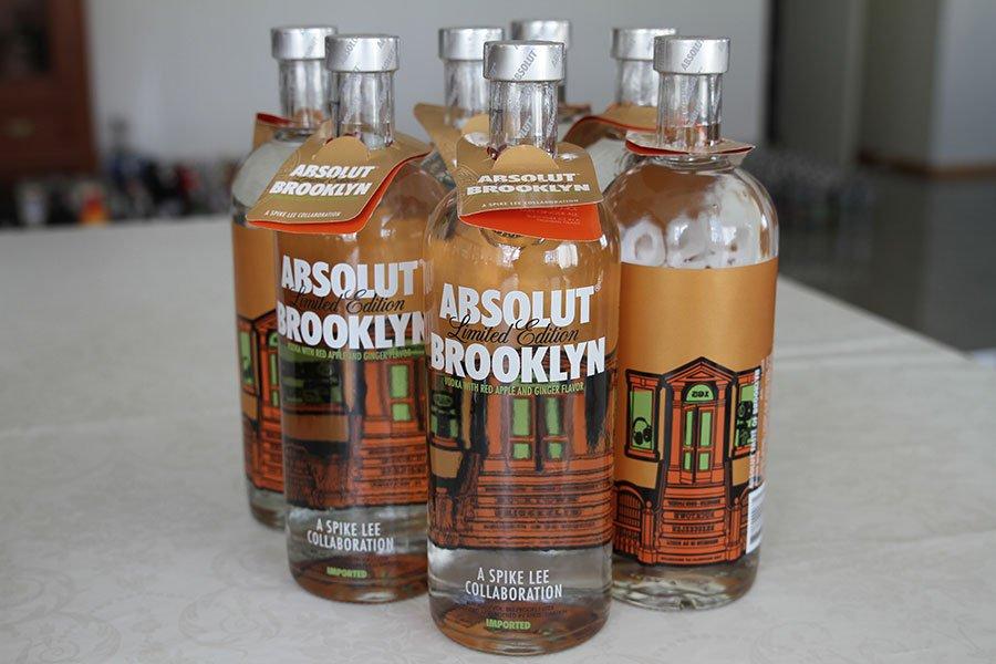Absolut Brooklyn 7 x 1 liter