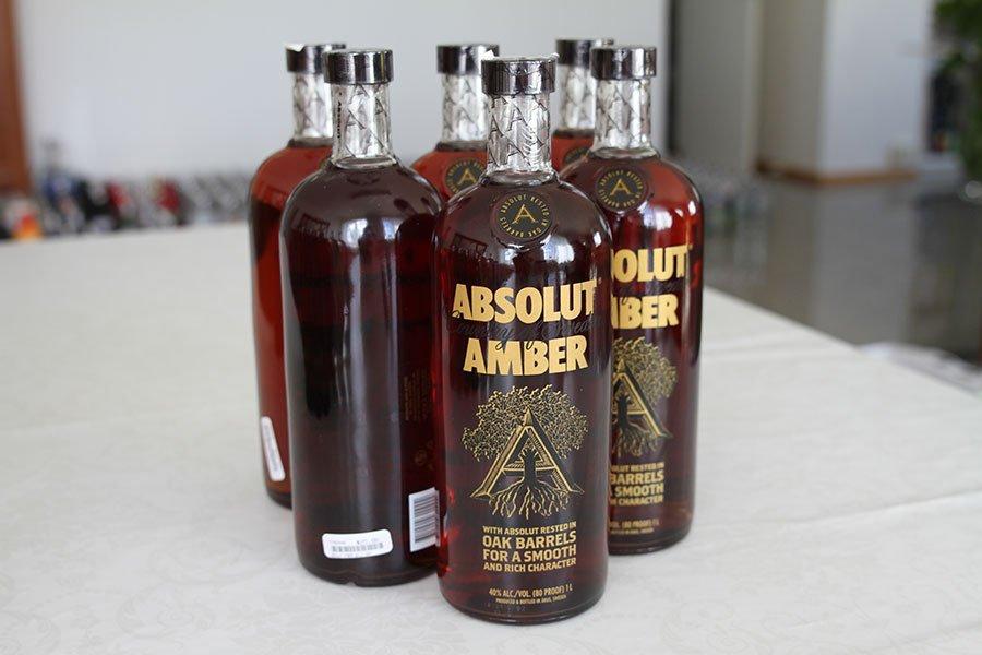 Absolut Amber 6 x 1 liter