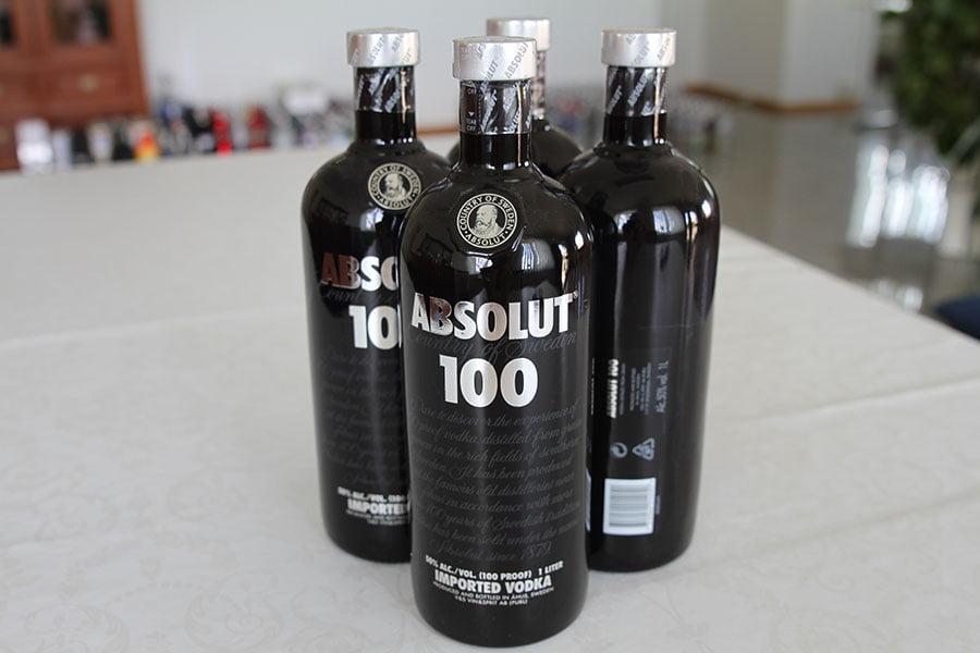 Absolut 100 4 x 1 liter