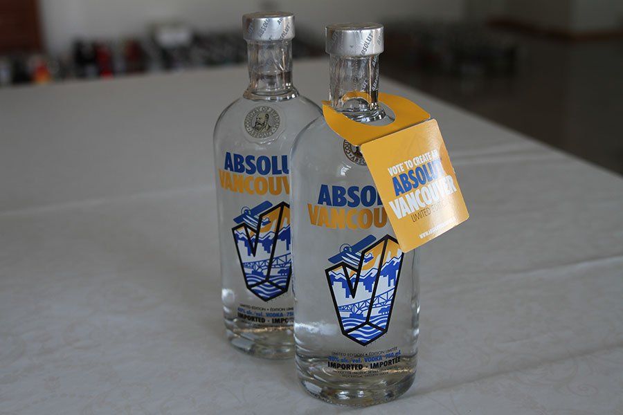 Absolut Vancouver 2 x 0,75 liter