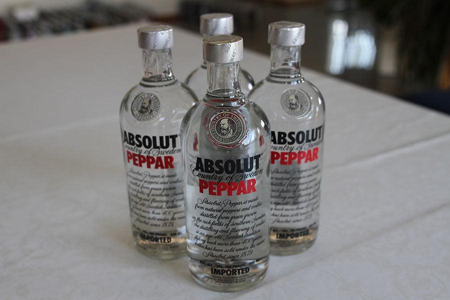 Absolut Peppar 4 x 0,5 liter