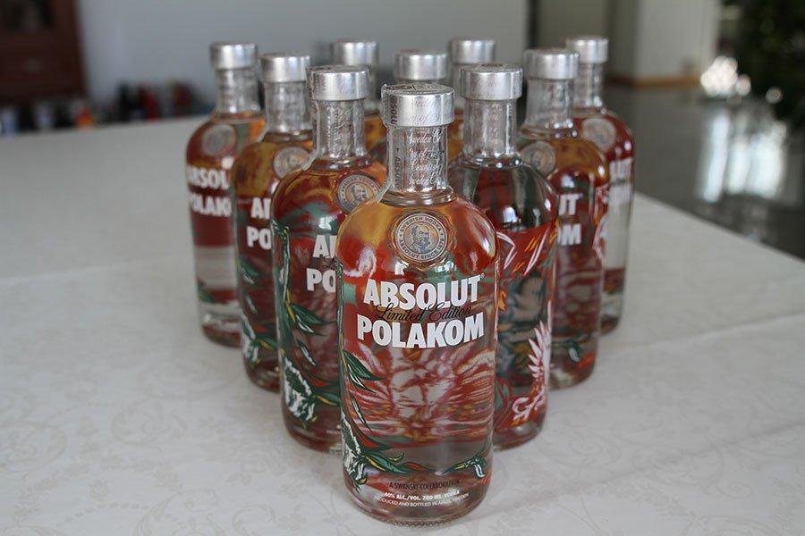 Absolut Polakom 10 x 0,7 liter