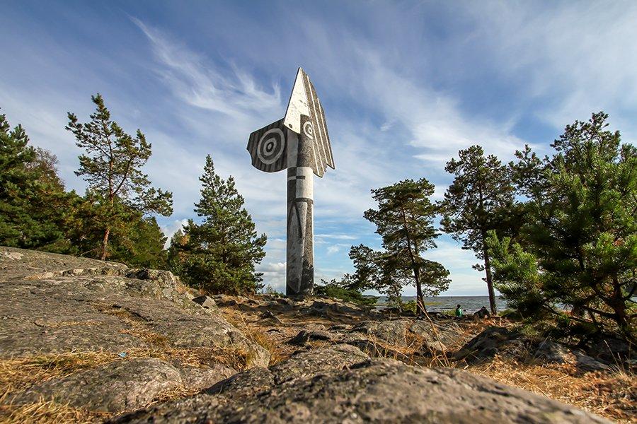 Kristinehamn Sweden worlds largest picasso monument