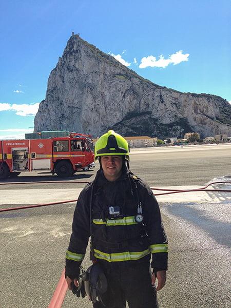 Daniel Majak fireman