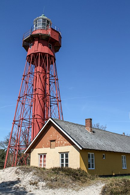 Sandhammaren Lighthouse Sweden