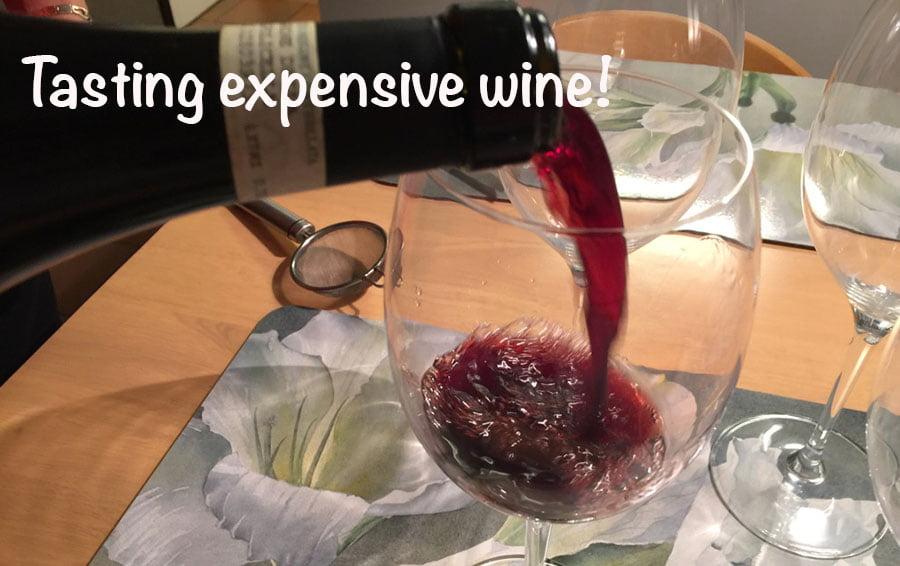 Wine meets wine