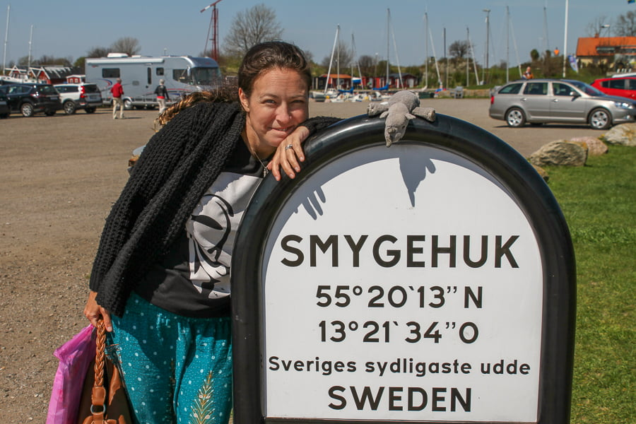 Last time we went to Smygehuk.