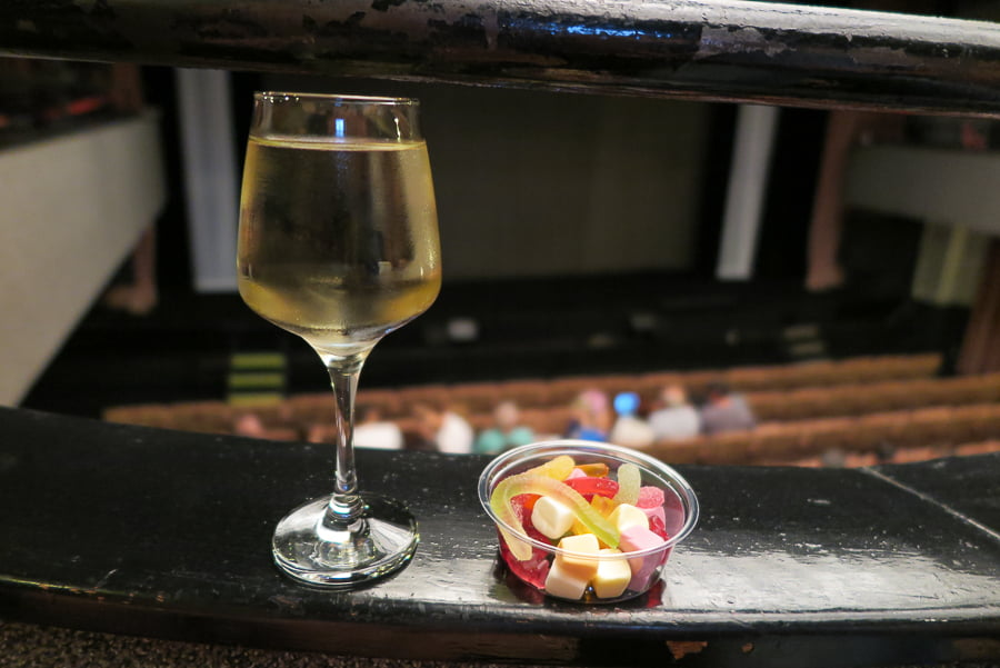 Wine and candy = life at its best!
