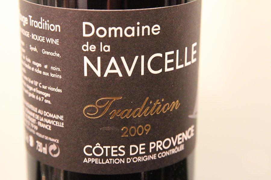 Domaine de la Navicelle from 2009.