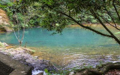 Charco Azul Swimming hole, Puerto Rico