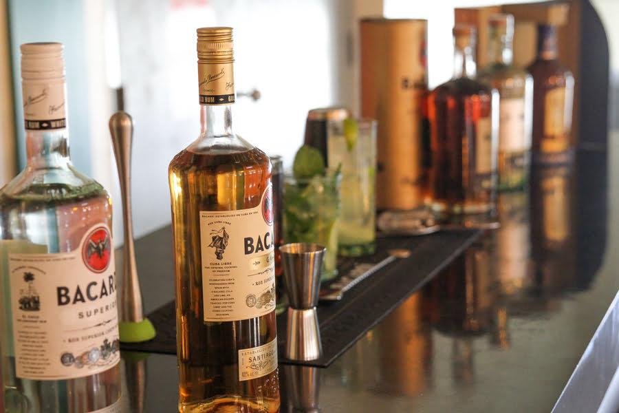 Casa Bacardi Bottles