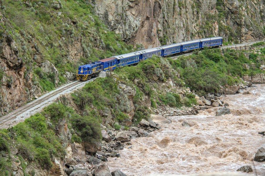 Inca Trail train