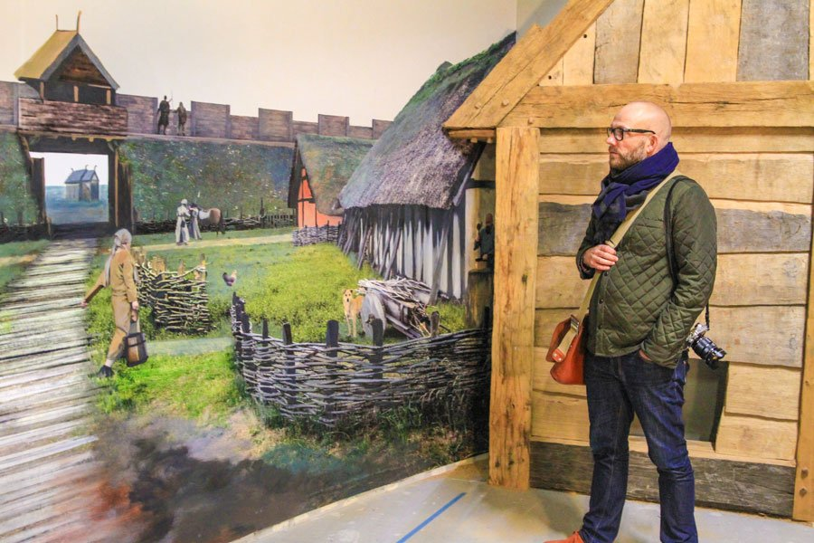The new exhibition in den gamle by