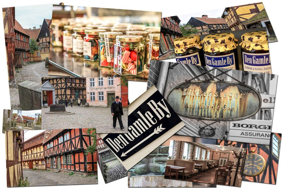 Collage Den Gamle By