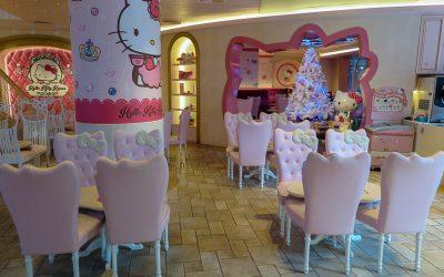 Say Hello to the Kitty at Hello Kitty Cafe in Bangkok, Thailand