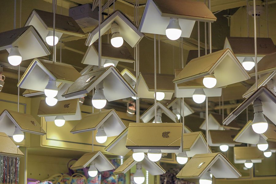 Books as art in Bangkok